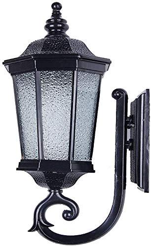 Carl Artbay Beautiful Home Decoration lamps buitenverlichting voor aan de muur van ijzer, zwart, buitenverlichting voor het terras, E27-licht, wand, park, open luchtverlichting, Scenic open ruimte, verlichting van gereedschap