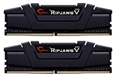 RipJaws V Series, designed specifically for AMD Ryzen 3000 and X570 Series; Intel Z390 and newer. 16GB kit containing 2 x 8GB modules, DDR4-3600, 288-Pin, CAS Latency CL16 (16-19-19-39) at 1.35V Brand: G.SKILL, Series: Ripjaws V Series, Model: F4-360...