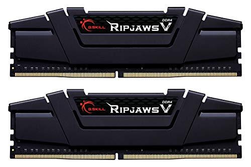 G.SKILL 32GB (2 x 16GB) Ripjaws V Series DDR4 PC4-25600 3200MHz for Intel Z170 Platform Desktop Memory Model F4-3200C16D-32GVK