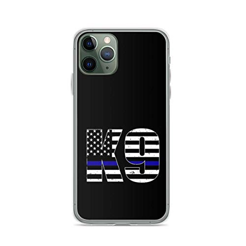 Phone Case Police K9 Thin Blue Line Compatible with iPhone 6 6s 7 8 X XS XR 11 Pro Max SE 2020 Samsung Galaxy Drop Absorption