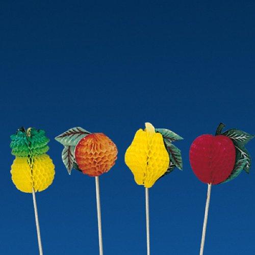 García de Pou 116.07 Adornos Helados Frutas, 10 Cm, Set de 100, Multicolor