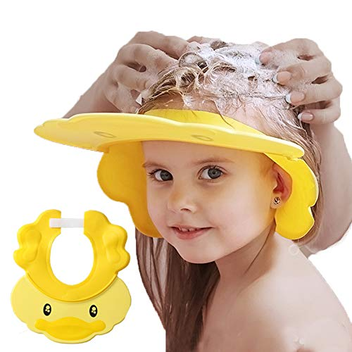Baby Shower Cap Adjustable Silic...