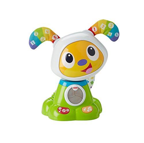 Fisher Price Guau Guau perrito robot, juguete electrónico bebé +9 meses (Mattel FJF45)