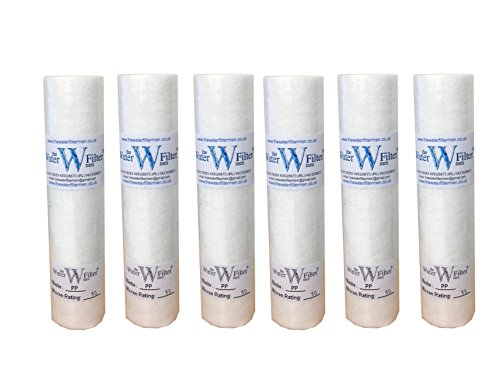 10 PP Sediment 10mic Sediment Particle Water Filter Cartridge 10 Micron by The Water Filter Men