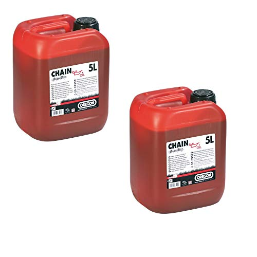 Zwei 5l Kanister Sägekettenöl Kettenöl von Oregon