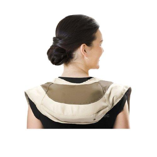Nackenmassagegerät Wellness Klopfmassage - Nacken-, Schulter-, und Rückenmassage - 39 Massagevarianten, 12 Intensitätsstufen - Leistung: 45W, Gewicht: 2,4Kg