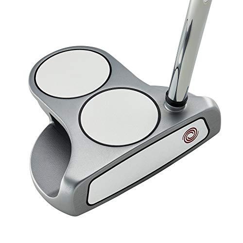 Odyssey Golf 2021 White Hot OG Putter (Right-Handed, 2 Ball, Steel, 34')