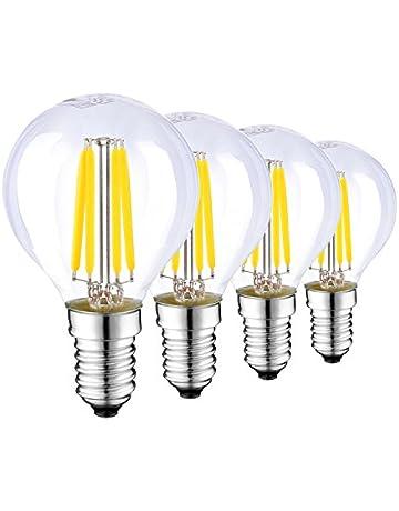 Bomcosy G45 フィラメント LED電球 E17口金 電球色 2700k 全方向タイプ 調光器
