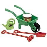 Jouets Ecoiffier -558 - Brouette et ses outils – Outillage de jardin pour enfants...