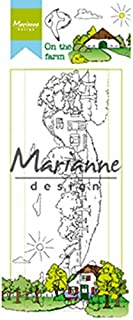 Marianne Design Hetty's On The Farm Clear Stamp Set, Synthetic Material, 18.6 x 7.9 x 0.4 cm