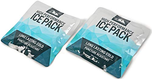 Arctic Zone High Performance Ice Pack for Lunch Box or Cooler, Set of 2 - 250 grams each