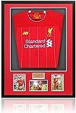 Camisa enmarcada del Liverpool F.C. del Liverpool firmada a mano por el Trent Alexander-Arnold con certificado AFTAL