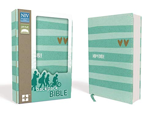 NIV, Backpack Bible, Compact, Flexcover, Teal