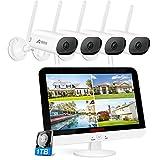 ANRAN 5MP HD Kit de Cámara de Seguridad con Monitor, 4 Cámaras...