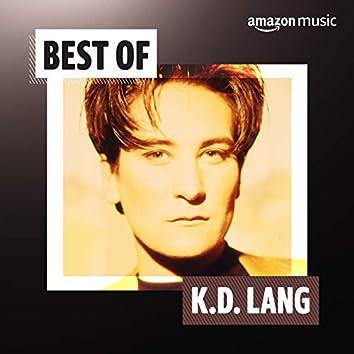 Best of k.d. lang