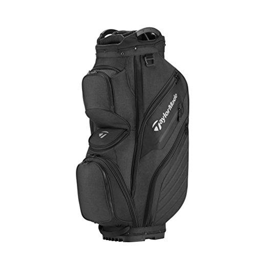 TaylorMade Supreme 2018 Cart Bag (Black) (Black)