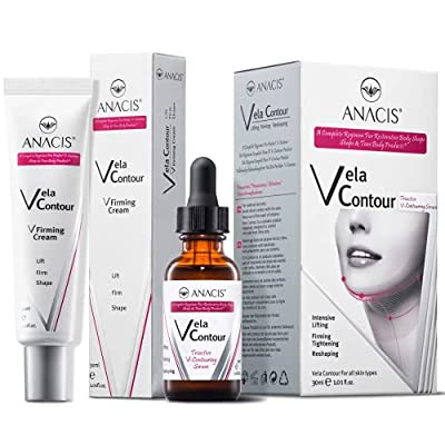 Neck Firming and Tightening, Lifting V line Serum (CREAM + SERUM) from