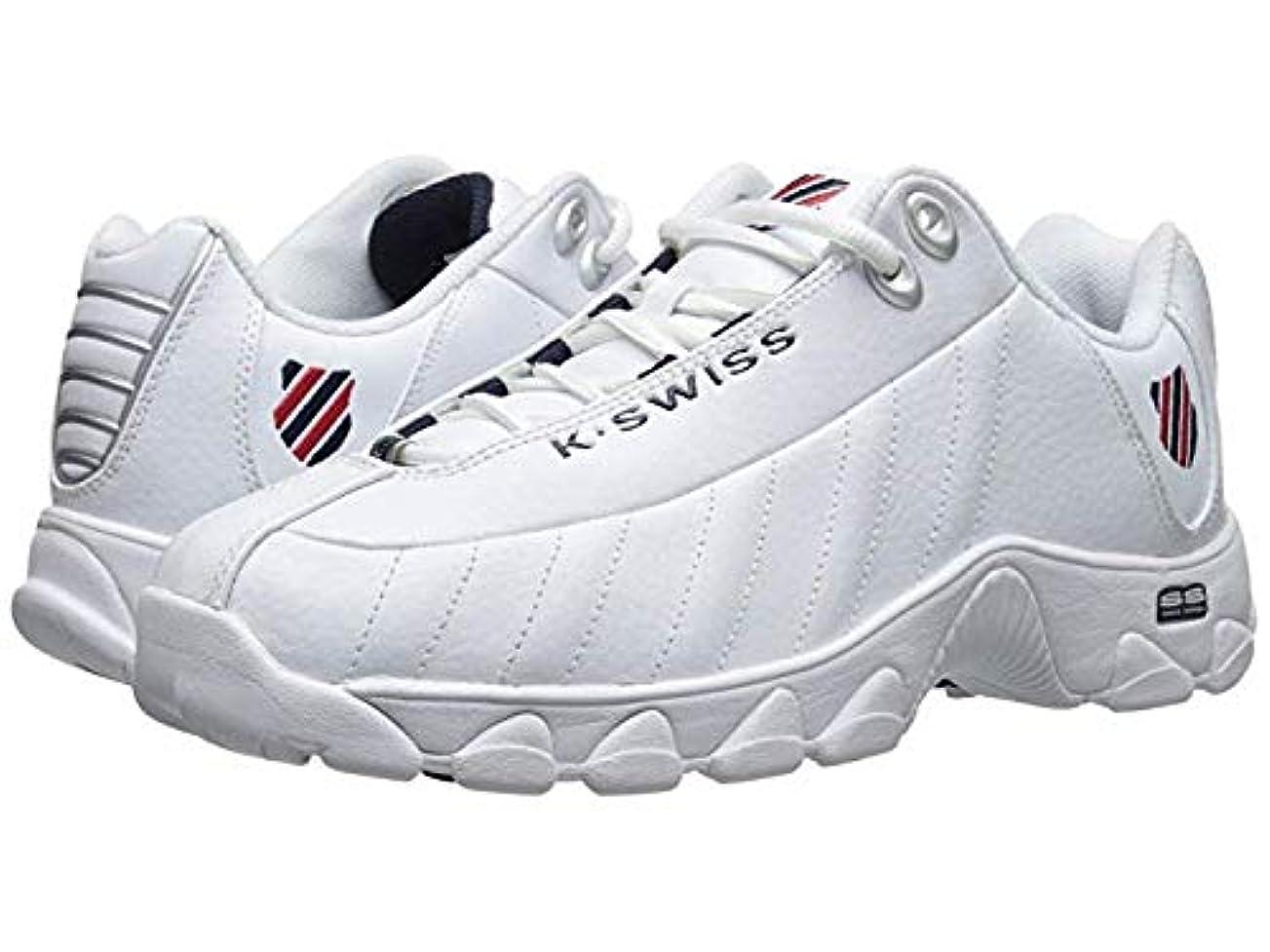 [ケースイス] メンズスニーカー?靴?シューズ ST329 CMF White/Navy/Red Leather US 11 (29cm) D - Medium [並行輸入品]
