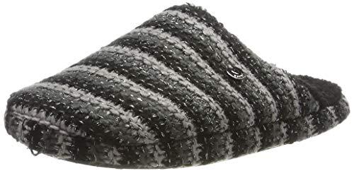 ESPRIT Damen Doni Knit Mule Pantoffeln, Schwarz (Black 001), 42 EU
