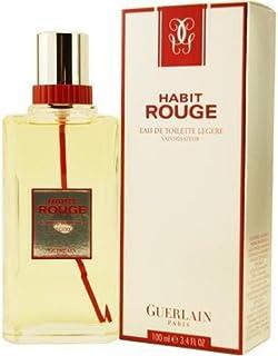 Habit Rouge by Guerlain for Men - Eau de Toilette, 100ml