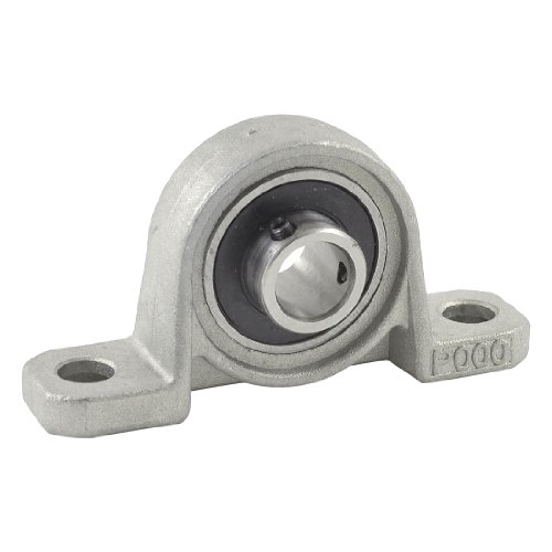 sourcingmap 10 mm de diamètre intérieur en acier inoxydable automatique Oreiller Bloc Roulement à billes