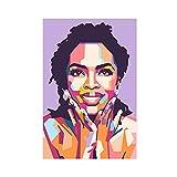Sänger Lauryn Hill Star Poster 1 Retro Poster Metall