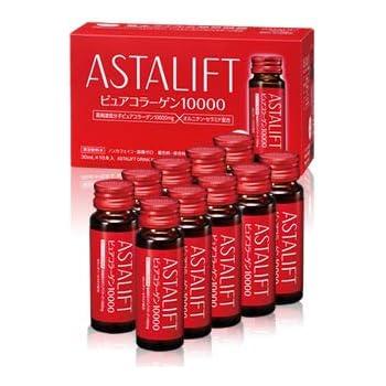 アスタリフト (ASTALIFT) コラーゲンドリンク ピュア コラーゲン 10000 (1箱 30ml × 10本)