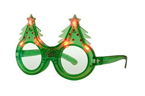 NEO+ Party-LED-Gläser, viele Farben Blinkende Gläser (Weihnachtsbaum)