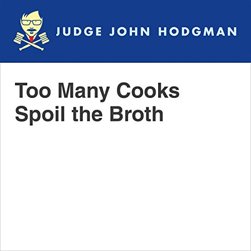 Too Many Cooks Spoil the Borth audiobook cover art