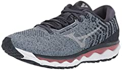 XPOP PU foam and Mizuno Foam Wave combine to make this favorite neutral running shoe the softest and bounciest yet WAVEKNIT upper construction provides a comfortable fit with natural movement and breathability In addition to XPOP PU foam and Wave Tec...