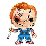 WWZL Horror Chucky con La Figura Cuchillo Pop En Caja De Regalo De PVC Estatua / 10CM
