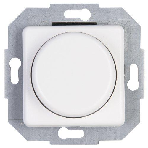 Kopp Wippen-Wechsel Dimmer stufenlos verstellbar, für Glühlampen und Halogenlampen, 20-275W/VA, UP, Dimmschalter