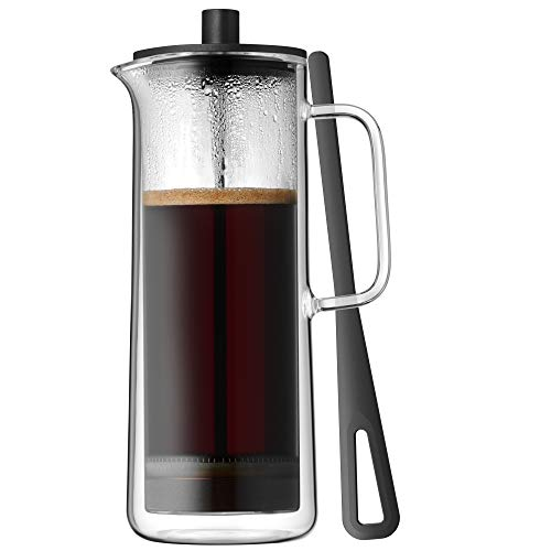WMF Coffee Time French Press Koffiemaker, glas, Cromargan roestvrij staal, vaatwasmachinebestendig