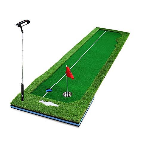 household items Alfombrilla de Golf Plegable para Interiores, Juego de práctica de Putt portátil, Alfombrilla de práctica de Calle, Ayuda para Putt