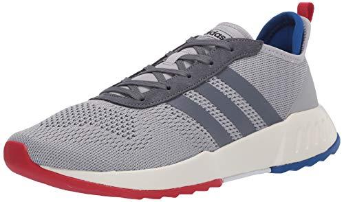 adidas Men's Phosphere Running Shoe, Grey/Onix/Scarlet, 9 M US