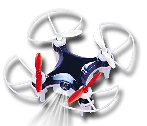 Gear2play Quadcopter Mini-Drohne VR WiFi 7 x 7 cm weiß