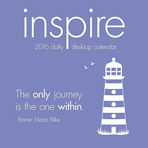 Inspire Desk Calendar by TF Publishing 2016