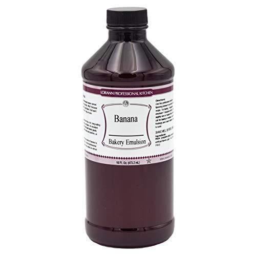 LorAnn Banana Bakery Emulsion, 16 ounce bottle