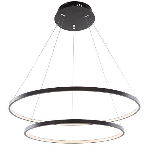 60W LED Modern Acryl Pendelleuchte Höhenverstellbar Deckenlampe Kreative jugendstil Kronleuchter...