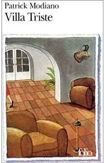 (Villa Triste) By Modiano, Patrick (Author) Paperback on 01-Oct-1998