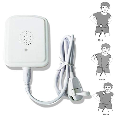 JIN Bedwetting Alarm Sensor Monitor Nocturnal Enuresis Alarm for The Elderly and Children