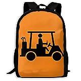 CADDYSHACK - Mochila de viaje ligera para golf, diseño con texto en inglés Beer Humor, 17 pulgadas