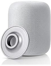 Accken Almohadillas antideslizantes de acero inoxidable para altavoz Homepod (plata)
