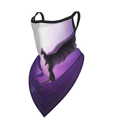 lymknumb Cómo entrenar a tu dragón Calentador de cuello Polaina Dust Face Bandanas & Face Cover Unisex Microfiber