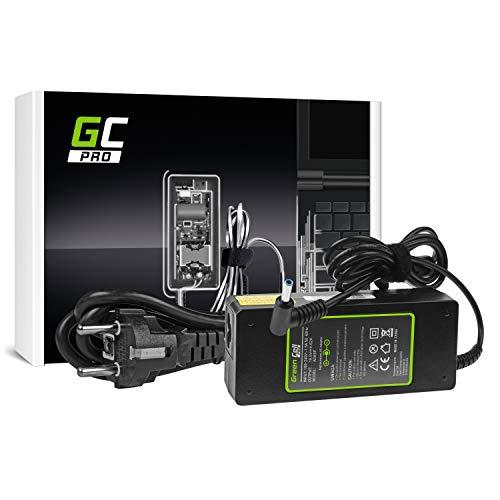 GC Pro Cargador para Portátil HP Pavilion 17-F203NS 17-F203UR 17-F204NF 17-F204NS Ordenador Adaptador de Corriente (19.5V 4.62A 90W)
