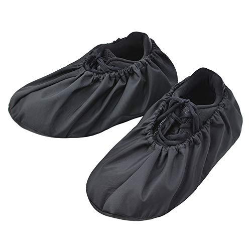 3Paar wiederverwendbar Schuhe- / Stiefel-Überzüge für Bauunternehmer, rutschfest, wasserdicht, waschbar, 2Größen, Passform bis Herren-Grösse 48