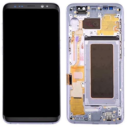 Compatibel met Galaxy LCD SAMSUNG Nieuw LCD-scherm + Nieuw Touch Panel met Frame voor Galaxy S8 / G950 / G950F / G950FD / G950U / G950A / G950P / G950T / G950V / G950R4 / G950W / G9500(Black), Kleur1