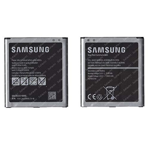 Soneth Batería para Samsung EB-BG531BBE 3,8 V 2600 mAh