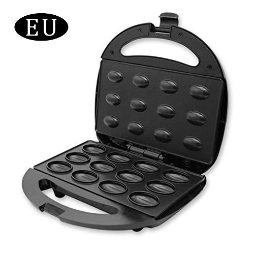 Elektrischer Waffeleisen Nussbäcker Nussmacker Haushalt Küchengeräte Backautomat-Doppelseitiges Heizblech