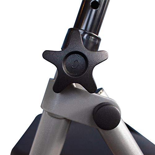 41THmrNfEjL - Andador de aluminio muy ligero, plegable y de fácil uso para adultos